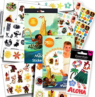 Disney Moana Stickers and Tattoos Party Favors Set