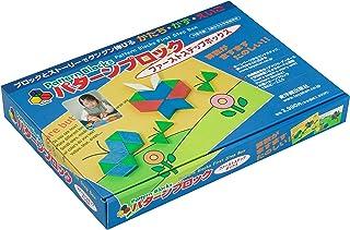 パターンブロック ファーストステップボックス―算数がますますたのしい! ! ブロックとストーリーでグングン伸びる かたち・かず・えいご―【東洋館出版社オリジナル・木のおもちゃ・150ピース・オールカラータスクカード付き】