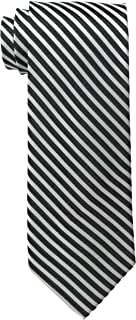 Bruno Piattelli Men's Tall Plus Size Extra Long Formal Stripe Silk Tie
