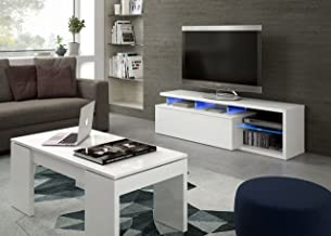Habitdesign 026630BO - Modulo de TV Moderno, Mueble Salon,