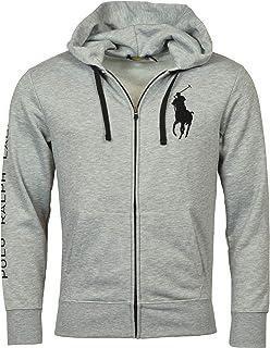 Men's Full-Zip Big Pony Logo Hoodie
