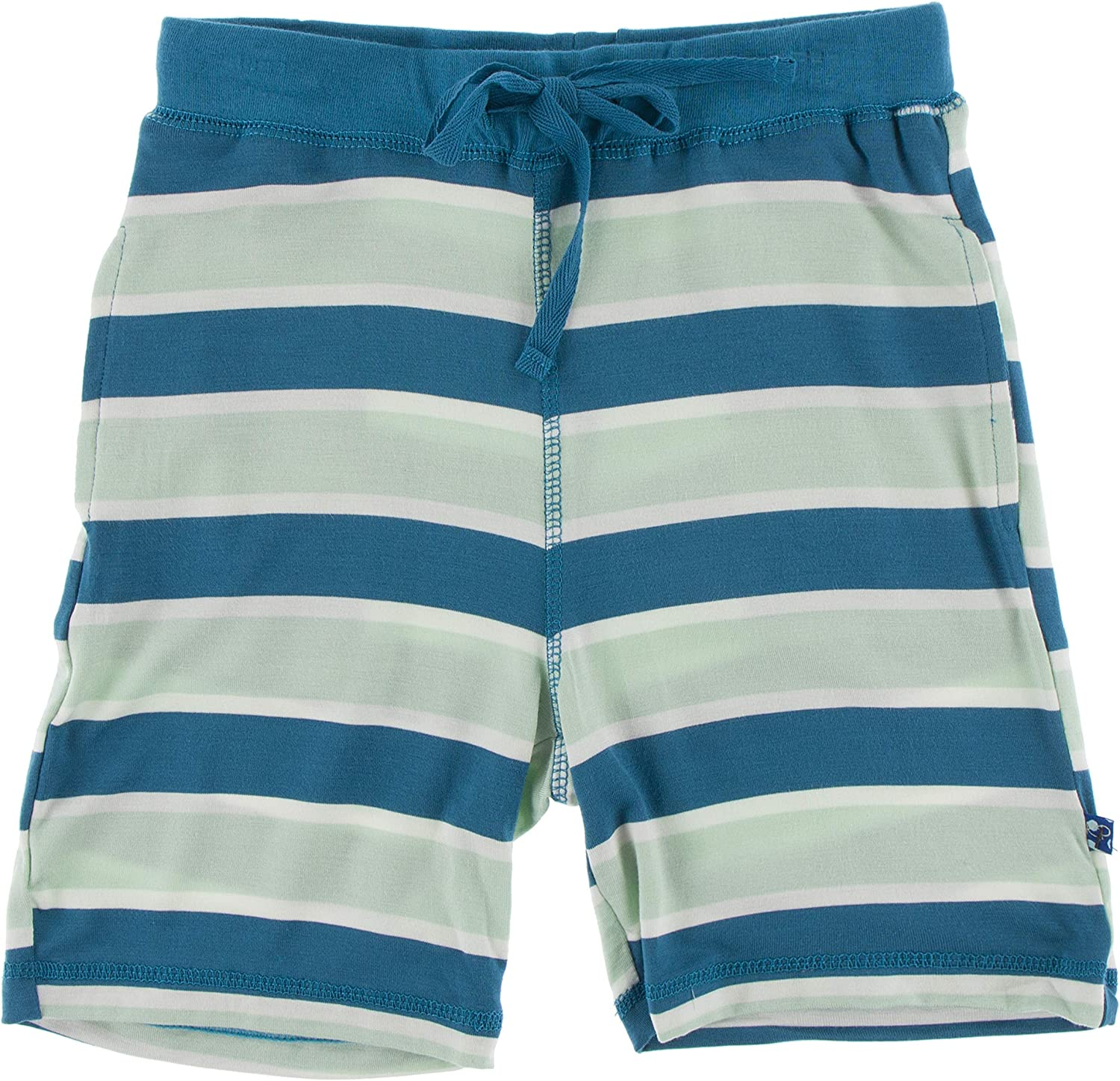 KicKee Pants Boys Basic Jersey Shorts, Made in Our Luxe Jersey Fabric