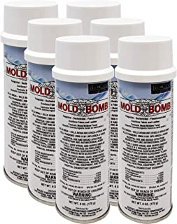 BioCide Mold Bomb Fogger - Mold Killer & Remover - Kill, Clean and Prevent Mold & Mildew, DIY Mold Remediation (Case of 6)