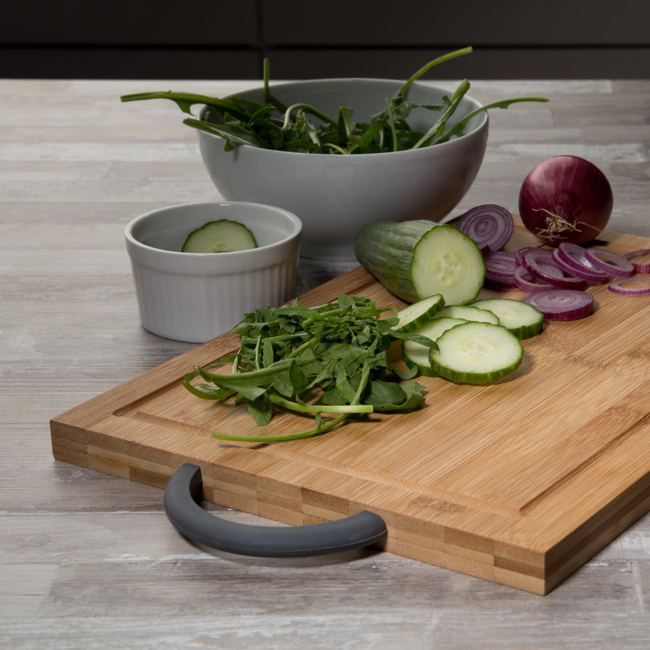 Pan de tiempo brett domestic ® con saftrille tabla para cortar antideslizante schneidbrett