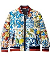 Dolce & Gabbana Kids - Nylon Maiolica Jacket (Little Kids)