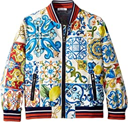 Nylon Maiolica Jacket (Little Kids)