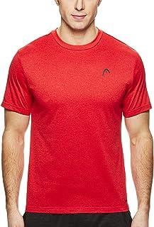 f5f4dd4fae5c HEAD Men s Crewneck Gym Training   Workout T-Shirt - Short Sleeve  Activewear Top
