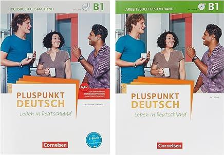 Pluspunkt Deutsch Leben in Deutschland Allgeeine Ausgabe B1 Gesatband Arbeitsbuch und Kursbuch 2 Ausgabe1205577 und 1207656 i Paket by Dr. Friederike Jin,Dr. Joachim Schote,Dr. Gunther Weimann