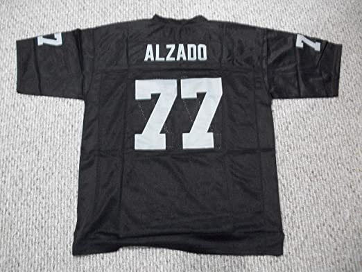 Unsigned Lyle Alzado #77 Los Angeles Custom Stitched Black Football Jersey Various Sizes New No Brands/Logos