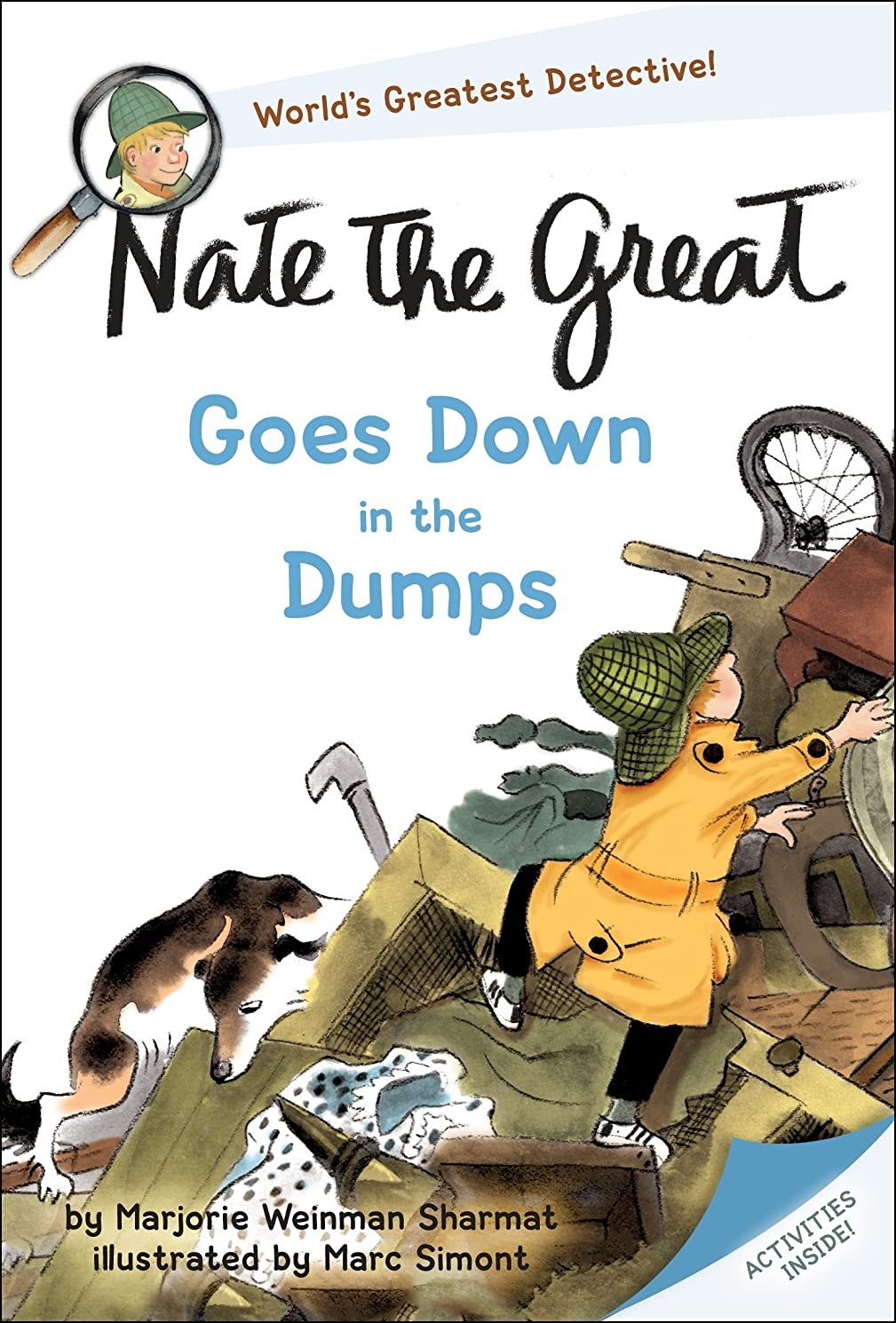 旧正月わずかに慎重にNate the Great Goes Down in the Dumps (English Edition)
