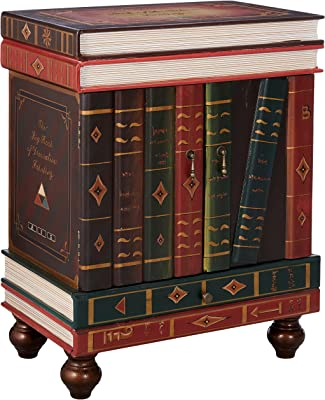 end tables that look like stacked books