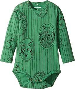 mini rodini - Fox Family Long Sleeve Bodysuit (Infant)