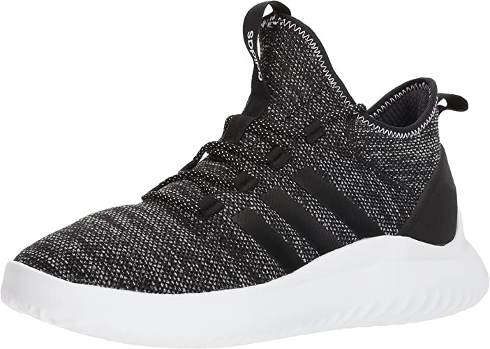 Adidas Hommes's Ultimate Bball Basketball chaussures, noir blanc, 10.5 M US