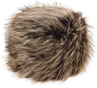 Futrzane Women's Russian Cossack Faux Fur Hat for Winter