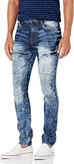 Men's Comfortable Fashion Skinny Stretch Denim Pants with Various Designs