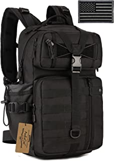 ArcEnCiel Hydration Pack Motorcycle Backpack Tactical Military Bag with Patch