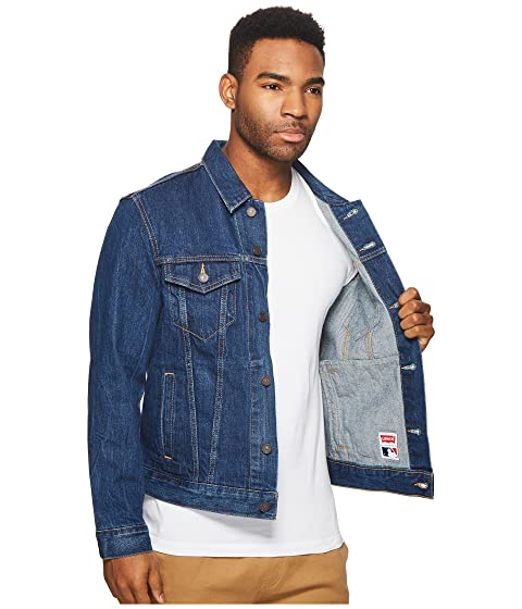 Mens Levi's® Denim Detroit Trucker Tigers v0drqw0