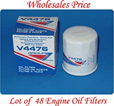 V4476 (Lot of 48 Filters) Oil Filter Purolator / Group7 MADE IN USA Cross-reference: PH4967 V4476 V4477 51395 51394 90915-YZZM1 L14476 4476 4477 PH2840 PF1233 PF2127 PF2128 PF2246 B7165