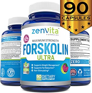 forskolin extract for weight loss by ZenVita Formulas