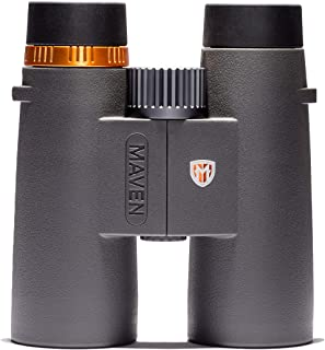 Image of Maven C1 10X42mm ED Binoculars Gray/Orange