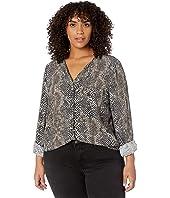 Plus Size Veronica Long Sleeve Shirt