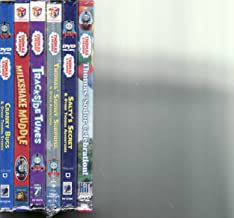 Thomas and Friends 6 Pack DVD Set Sodor Celebration / Salty's Secret / Trackside Tunes / Milkshake Muddle / Cranky Bugs / Snowy Surprise