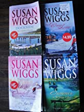 Susan Wigg's The Lakeshore Chronicles Set: The Dockside+The Winter Lodge+Summer at Willow Lake+Snowfall at Willow Lake