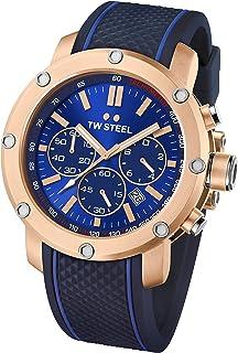 d055915134f TW Steel Men s TS3 Analog Display Quartz Blue Watch