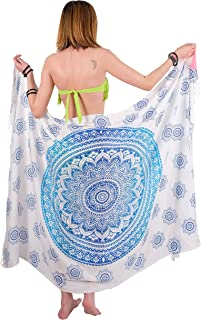 Bohemian Sarong, Mandala Pareo, Bikini Swimsuit Cover Up, Beach Blanket, Wrap