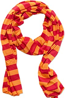 Women's Game Day Sports Team Apparel Scarf or Wrap, Jersey Stripe