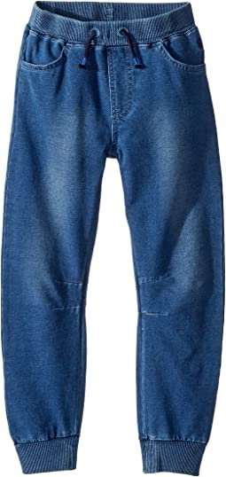 Joules Kids Jersey Denim Jogger (Toddler/Little Kids/Big Kids)