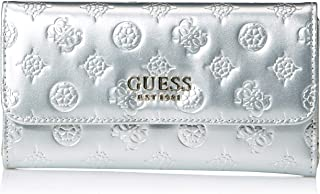 GUESS womens Peony Shine Multi Clutch Wallet