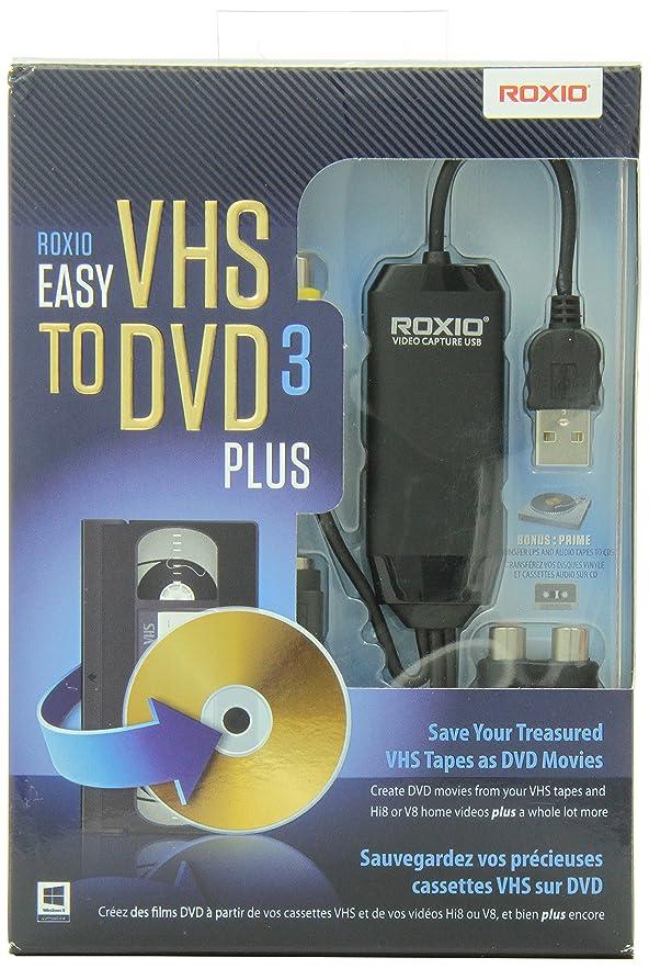 Roxio 251000CA Easy VHS to DVD 3 Plus - Canada Bilingual