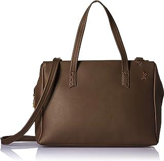 Baggit Women's Bowling Handbag (Beige)