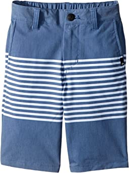 Quiksilver Kids - Echo Stripe Amphibian Shorts (Toddler/Little Kids)
