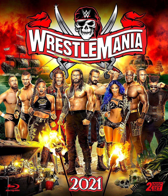 WWE: WrestleMania Large discharge sale Cheap sale Blu-ray 37