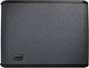 JAM Rhythm WiFi Home Audio Speaker with Amazon Alexa Voice Service, Stream Music, Built-in Intercom, Sync up to 8 Speakers for Home Audio, Control Speakers with Smartphone App, HX-W09901 Black