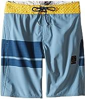 Volcom Kids - 3 Quarta Slinger Boardshorts (Big Kids)