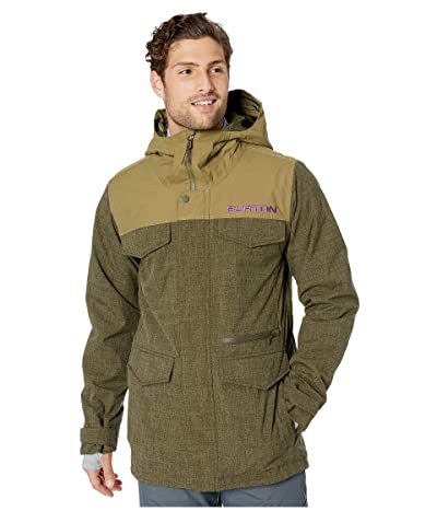 Burton Covert Jacket (Keef Heather/Martini Olive) Men