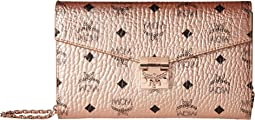 Patricia Visetos Crossbody Wallet Large