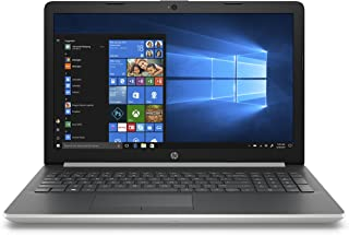 HP 15-da1094ne Laptop, Intel Core i5-8265U, 15.6 Inch, 1 TB + 256 GB (HDD+SSD), 8GB RAM, NVIDIA GeForce MX130(4GB GDDR5), Win 10, Eng-Ara KB, Silver