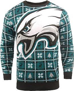 FOCO NFL Mens 2018 Big Logo Sweater