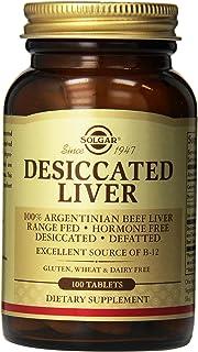 Solgar Desiccated Liver, 100 Tablets