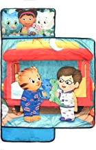 Jay Franco PBS Kids Daniel Tiger Let's Make Believe Kids'/Toddler/Children's Nap Mat with Built in Pillow and Blanket