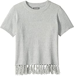 Ella Sweater T-Shirt with Fringe (Big Kids)