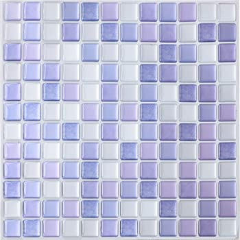 Pvc Square Decorative Vinyl Tile Decals 4 Sheets 3d Self Adhesive Wall Tiles Bathroom Wall Tiles For Kitchen Backsplash Yoillione 3d Mosaic Tile Sticker Removable Wallpaper Tile Colorful Home Decor Accents Home