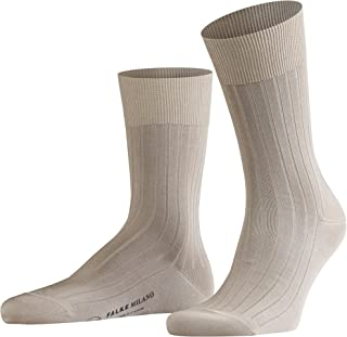 Falke Mens Milano Midcalf Socks - Sand