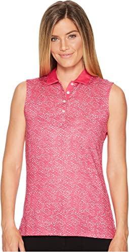 Callaway - Ombre Dot Sleeveless Polo