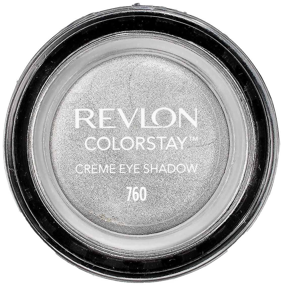 ギャングひそかに変形するレブロン カラーステイ クリーム アイ シャドウ 760 カラー:アール グレー(シルバーグレー)