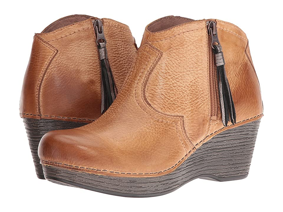 Dansko Veronica (Honey Distressed) Women